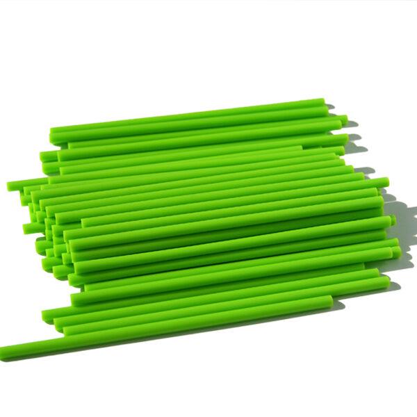 Bâtonnets de plastique à suçon limette