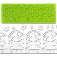 Christmas Tree Lace Silicone mold