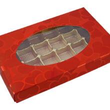 Valentino, 1lb rectangular box
