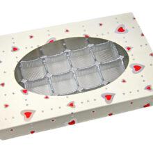 Valentine white, Pur collection, 1lb rectangular box