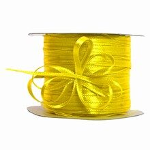 Sunny yellow pull bow ribbon (0.2in)