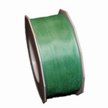 Ruban semi-transparent vert océan (40mm)