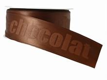 "Brown Monochrome ""Chocolat"" Ribbon (1.5in)"