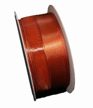 Ruban Orange brûlé (40mm)