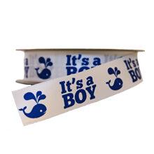 """""""It's a Boy!"""" Ribbon (1in)"""