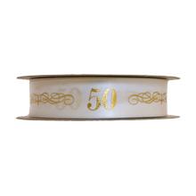 50th Birthday Ribbon (1in)