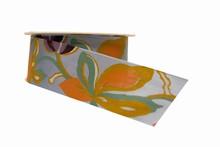 Cabosse stylisée lilas (40mm)