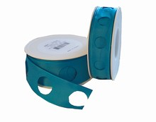 Ruban cercle bleu (40mm)