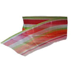 Striped sheer ribbon