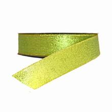 Ruban vert brillant (25mm)