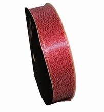 Ruban rouge brillant (25mm)