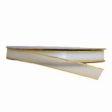 Sheer Sparkly White Ribbon (0.4in)