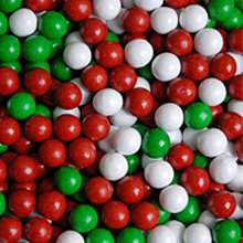 Sixlets, Christmas color mix