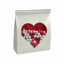Paper Sachet with Cello Heart Window