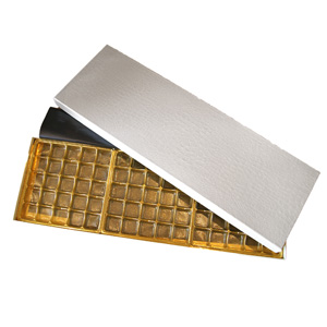 Croco Elegance White Box, 75ct