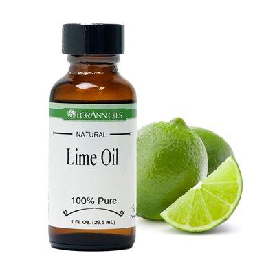 Huile de citron vert, naturelle