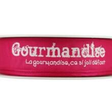 Pink Gourmandise Ribbon_25mm
