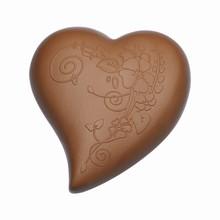 Coeur motif filigrane