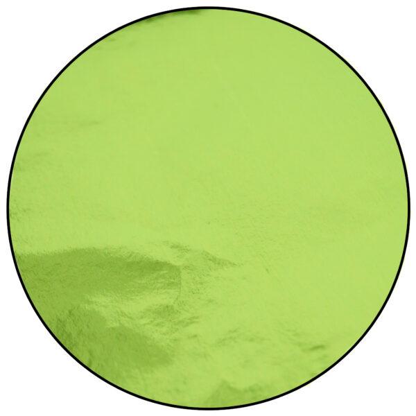 Papier de confiserie aluminium, Chartreuse