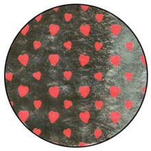 Confectionery foil, Heart