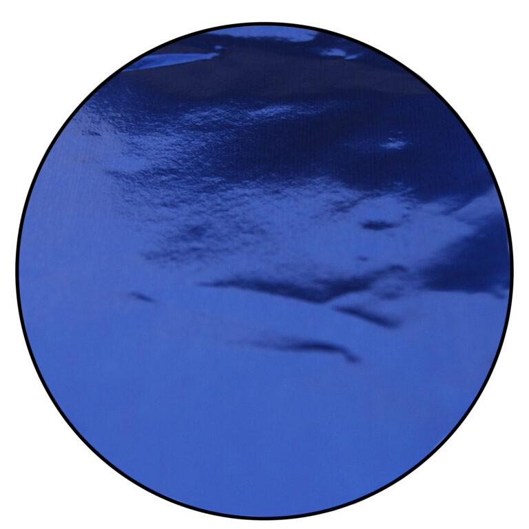Papier de confiserie en aluminium, Bleu foncé