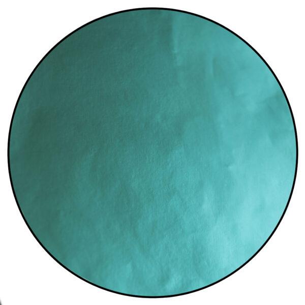 Papier de confiserie en aluminium, Turquoise