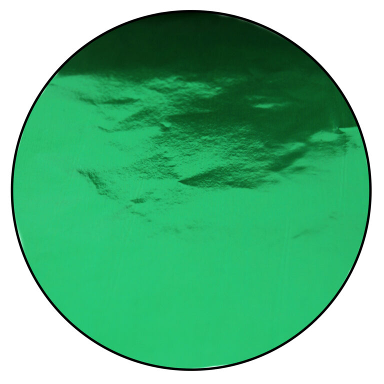 Papier de confiserie en aluminium, Vert Émeraude