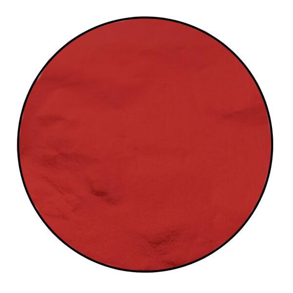 Papier de confiserie en aluminium, Rouge