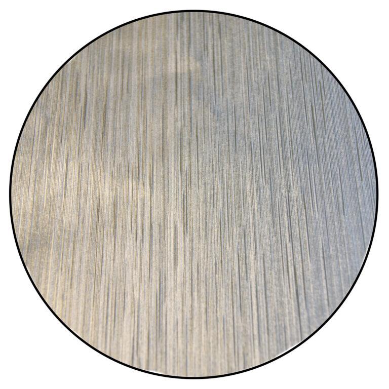 Papier de confiserie en aluminium, Argent texturé