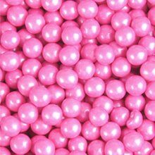 Sixlets, perlized Pink