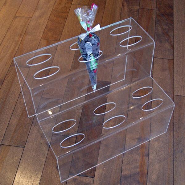 Plexiglass Display for Cone Bags