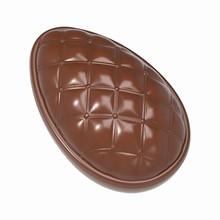 cw1888-Moule chocolat oeuf capitonné