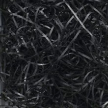 Black Fine Shredded Paper