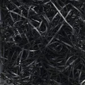 Paille papier fin noir