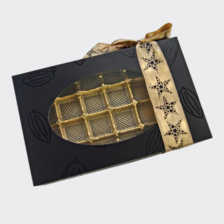 Cabosse collection, 1lb rectangular box