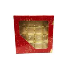 Boîte 1/2lb carré, collection Balthazar