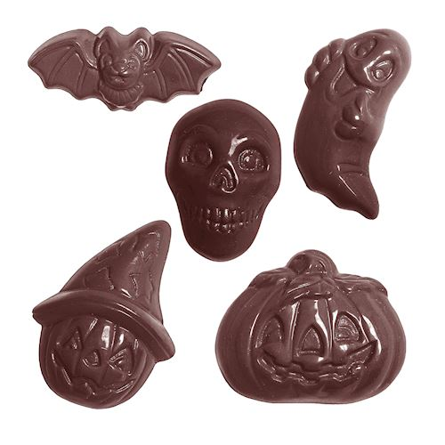 Chocolate Mold Assorted Halloween