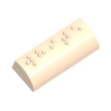 """Braille Praline """"White"""""""