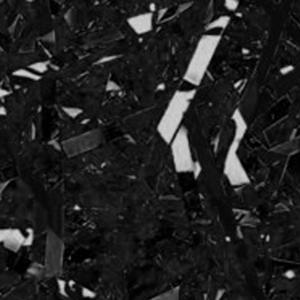 Paille cellophane noir