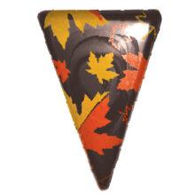 Blister triangular Maple leaves