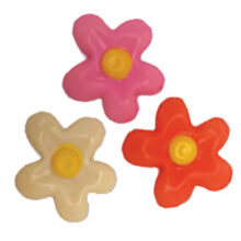 Blister Flowers 2D in 3 colors