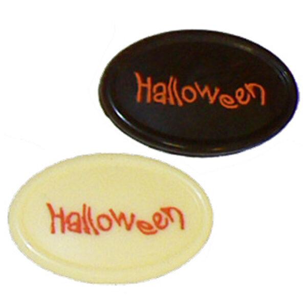 Plaque à remplir Halloween, ovale