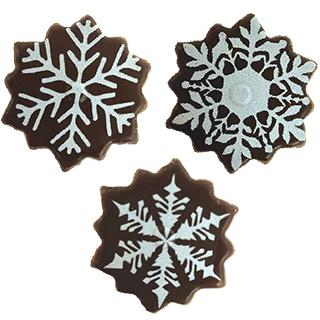 Blister Snowflake white
