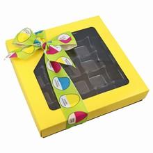 Yellow, 1lb square box