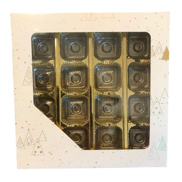 Boîte 1lb carrée, Melchior