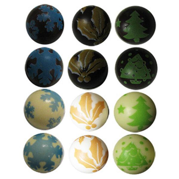 Blister Christmas half-spheres