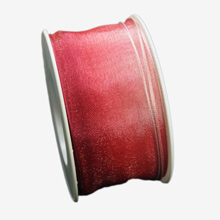 Red ombre ribbon