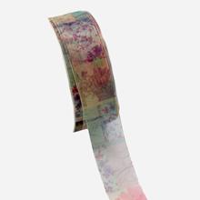 Sheer ribbon with romantif pattern
