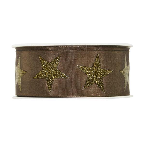 Starry Brown ribbon