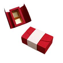 Antalis, red and cream 2ct Folding Box